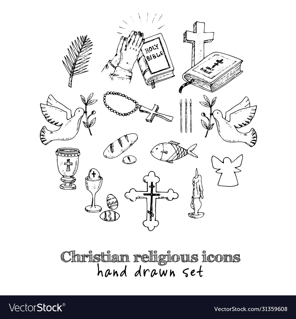 Christianity traditional religious symbols