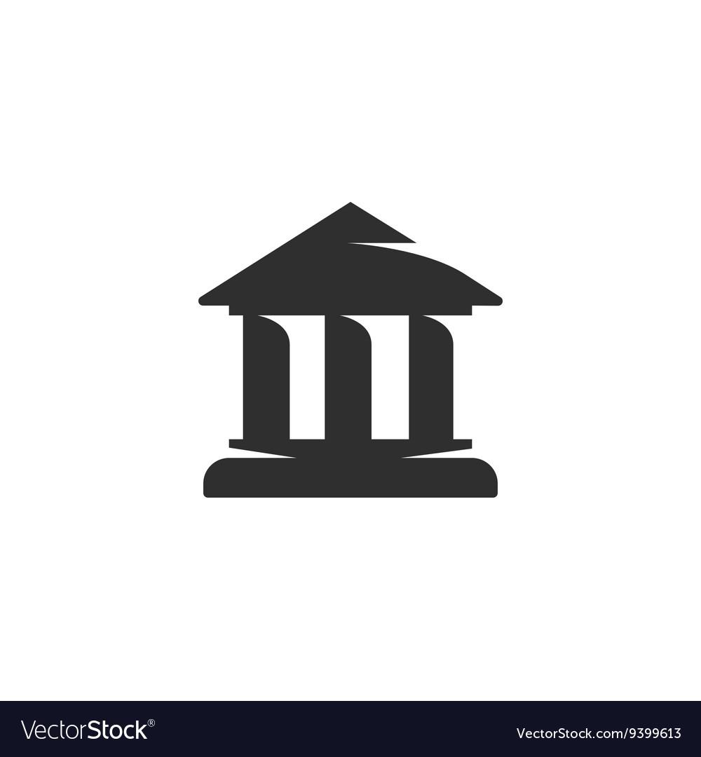 Building Icon logo on white background