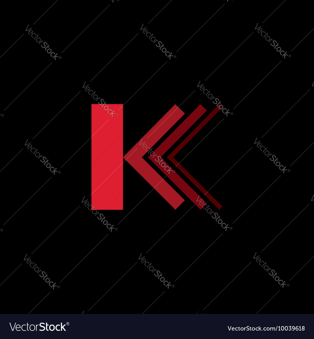Letter K logo icon design template element