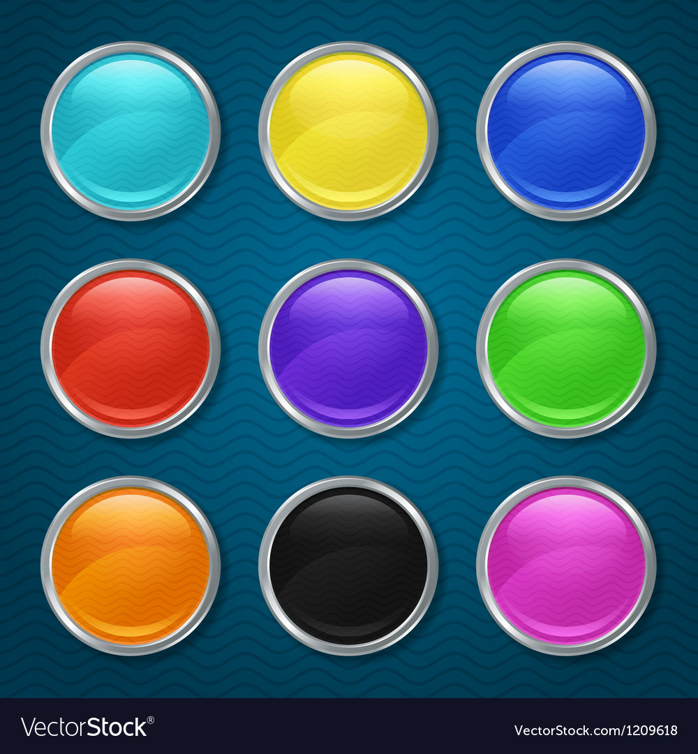 Round patterned icons for the app