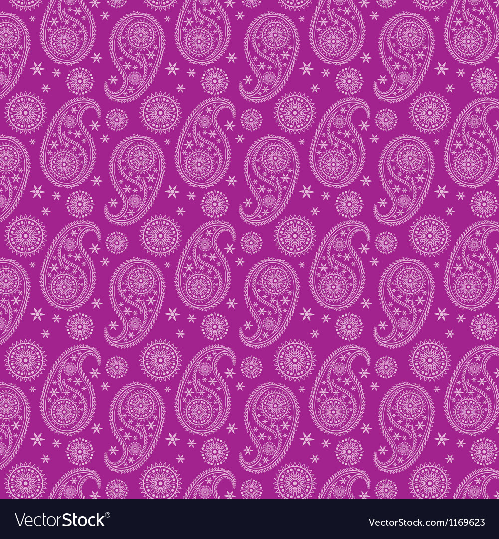Beautiful eastern pattern-India pattern vector image