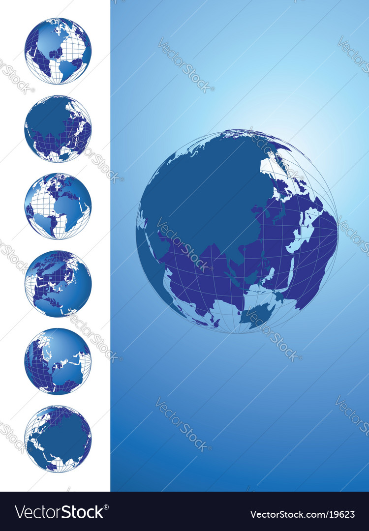 World Map Globe Collection