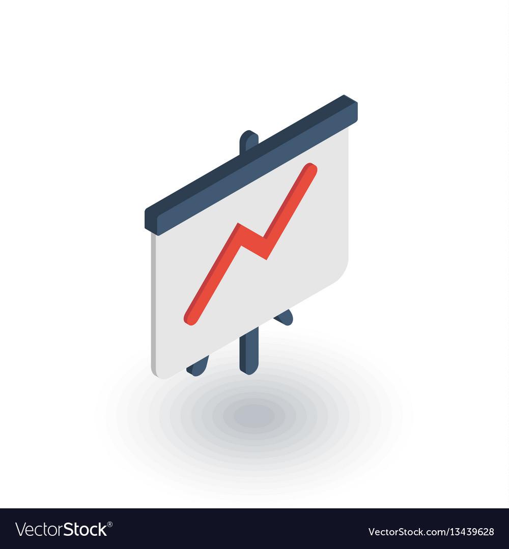 Growth graph chart market success arrow up