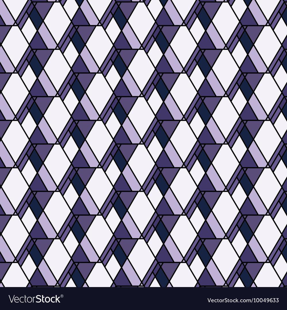 Purple rhombs pattern Geometric abstract