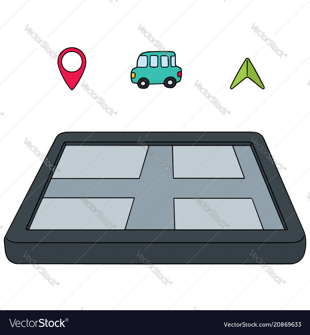 Set of navigation equipment