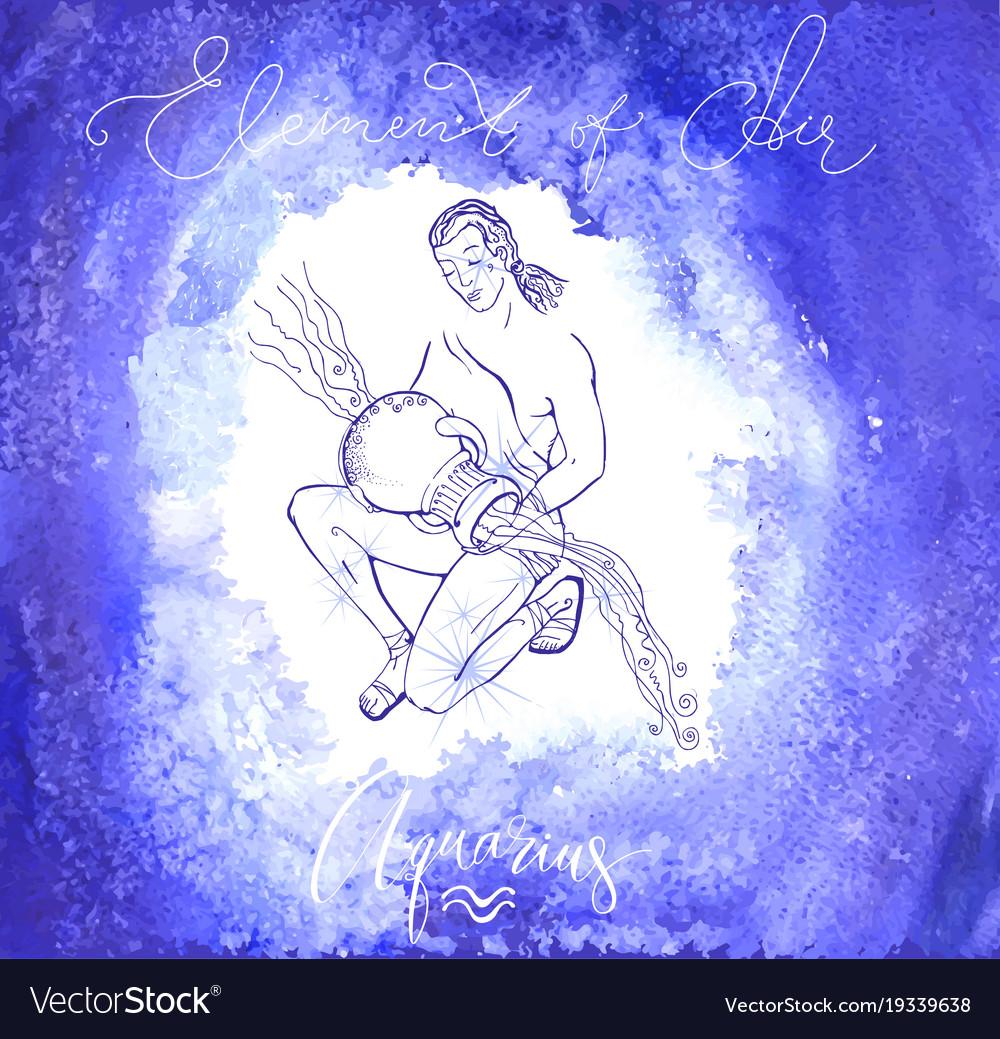 Astrology sign aguarius