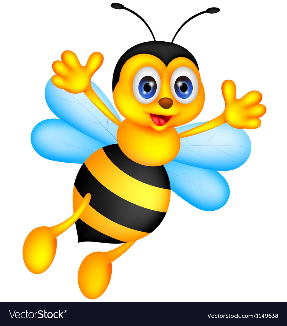This is a picture of Modest Funny Bee Picture