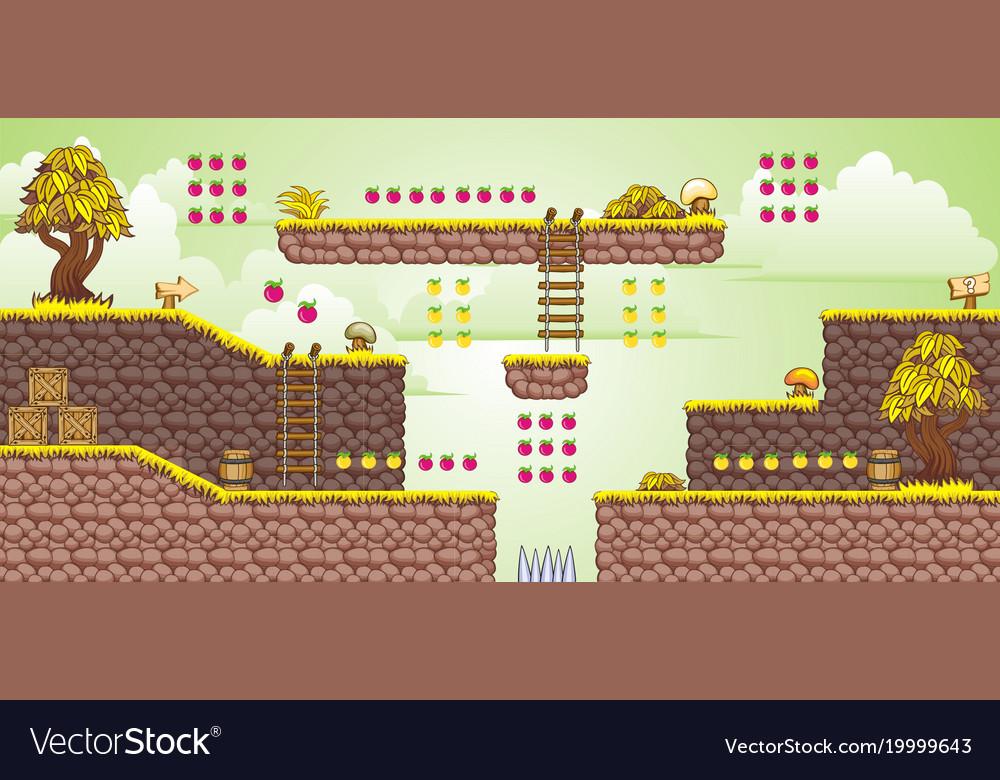 2d tileset platform game 35