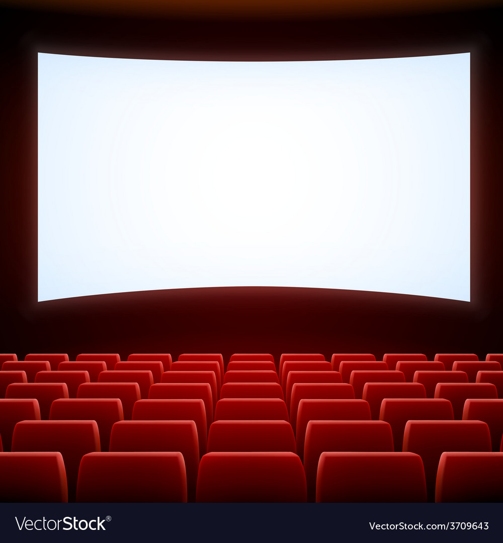 Cinema theatre Royalty Free Vector Image - VectorStock