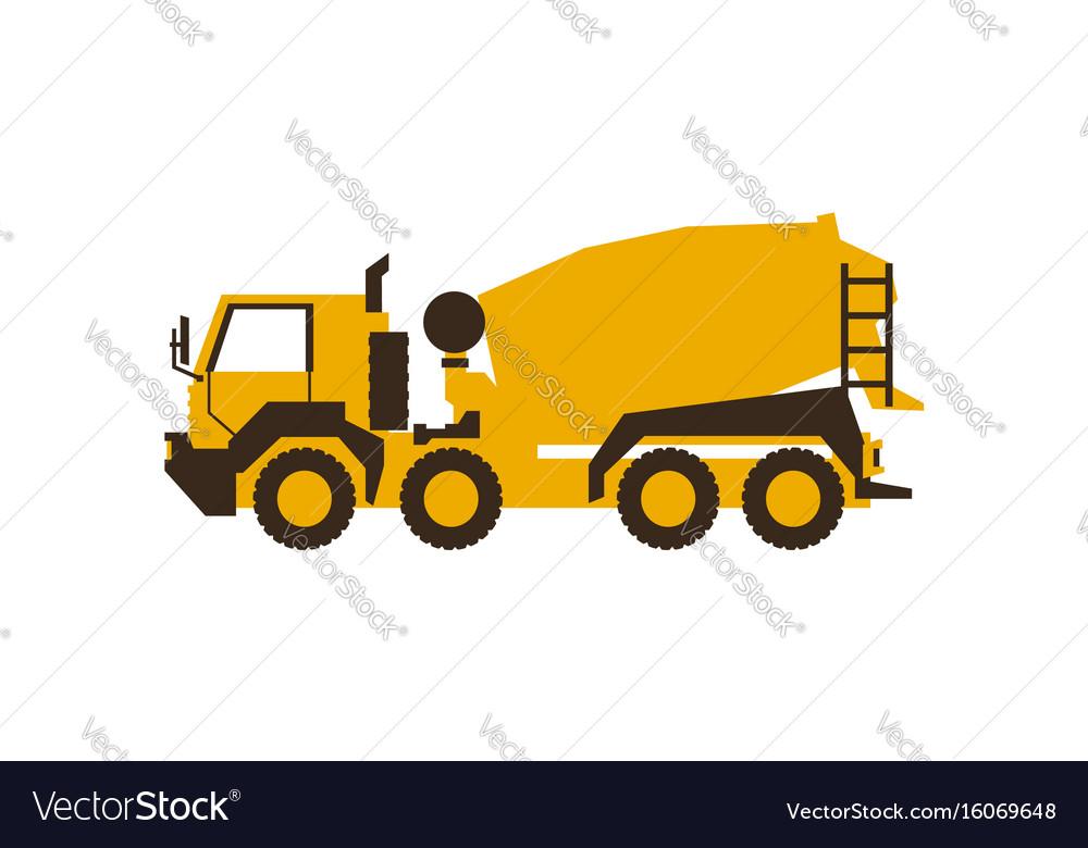 Icon concrete mixer construction machinery