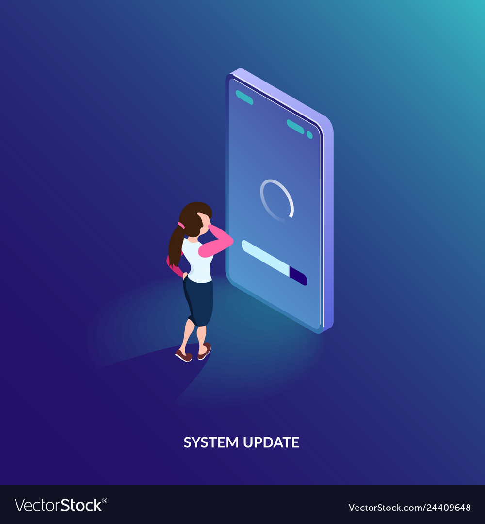 Isometric system update concept software update