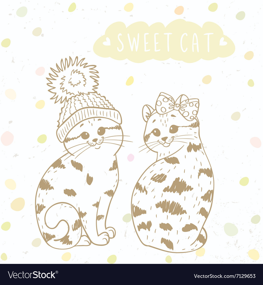 Two cute kitten