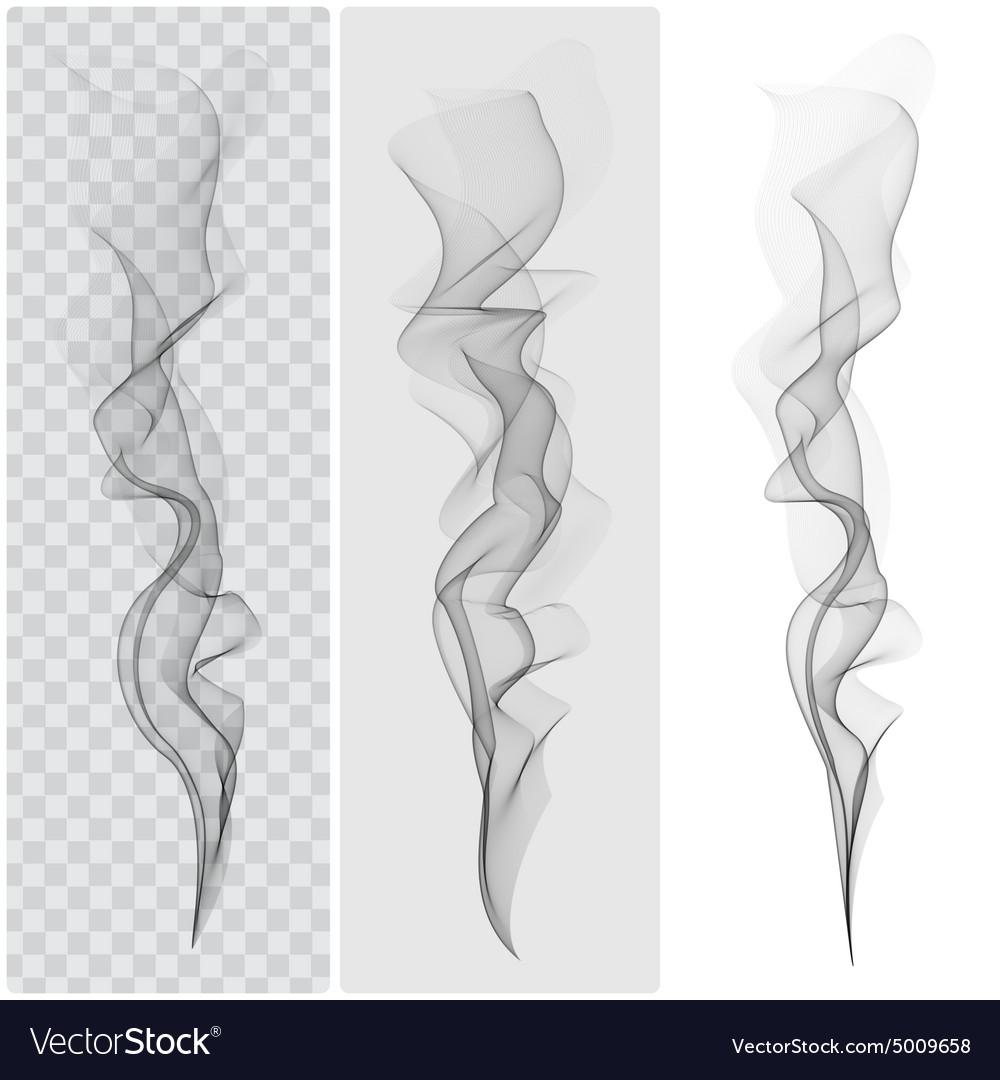 set of realistic black smoke royalty free vector image rh vectorstock com smoke factory smoke factory tour hazer ii