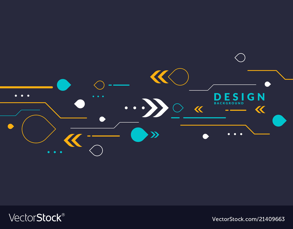 Abstract geometric background the poster with the