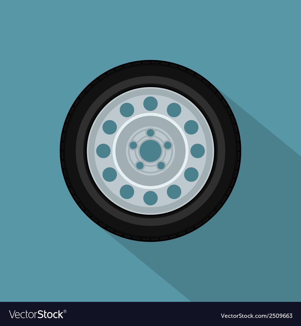 Flat wheel 2