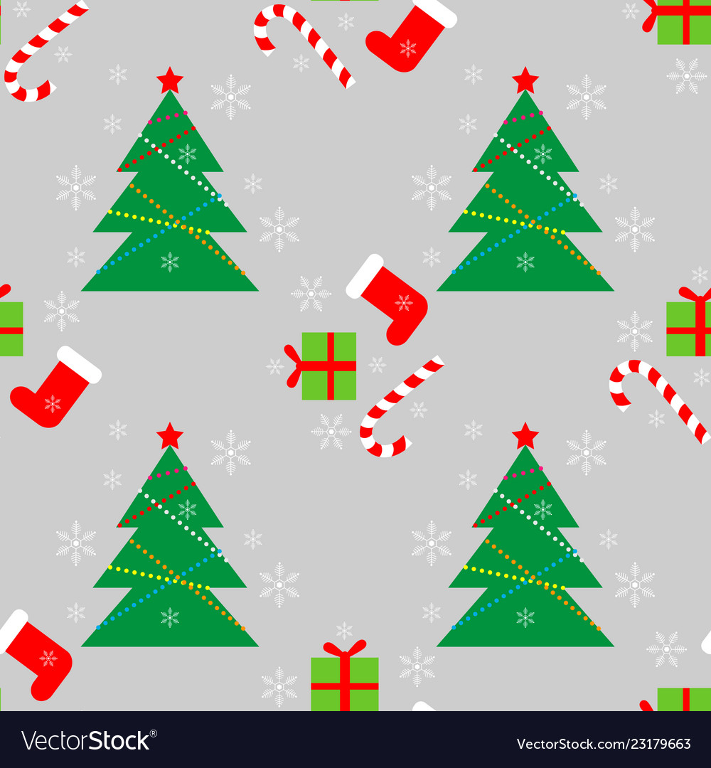New year christmas winter holidays color seamless