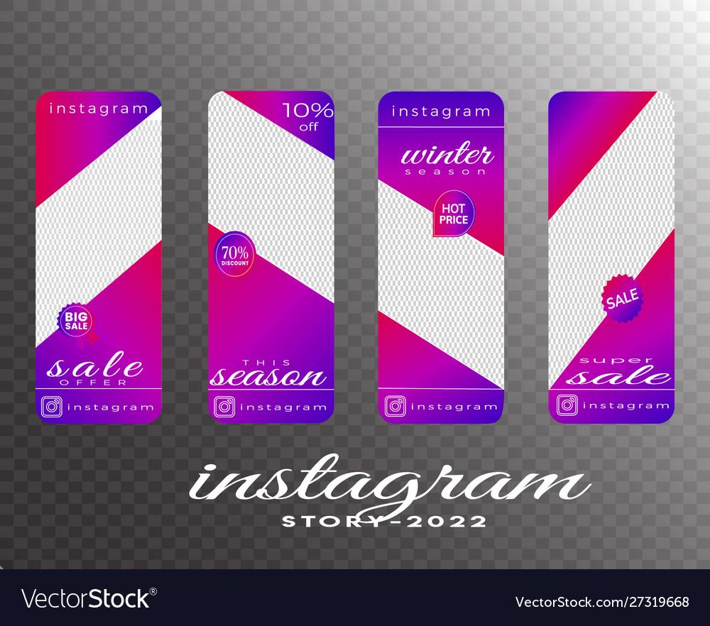 Instagram story social media post banner design