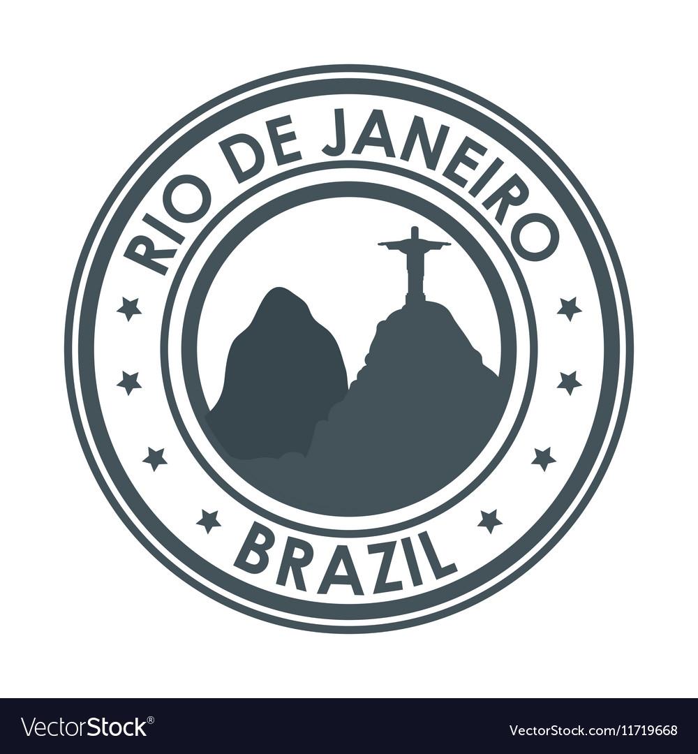 Rio de janeiro brazil monument christ design