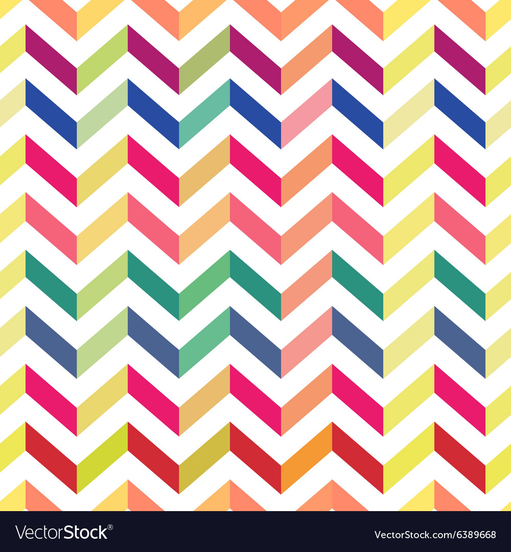 Seamless chevron colorful pattern pastel