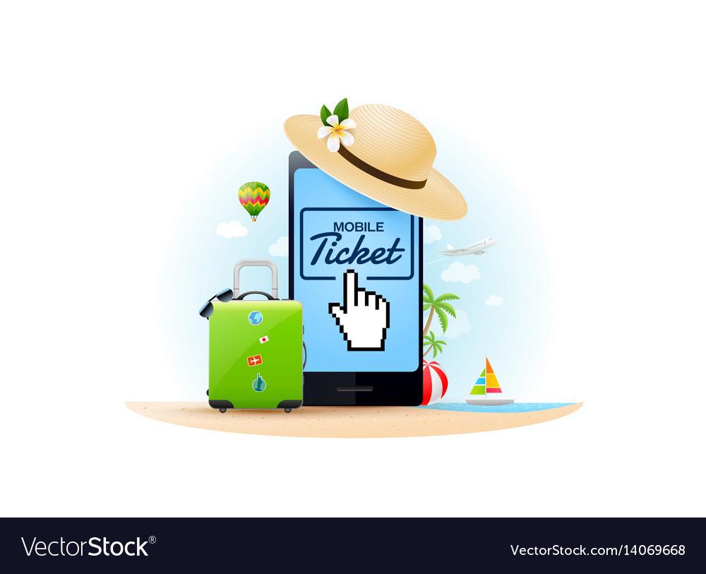 Travel online ticket