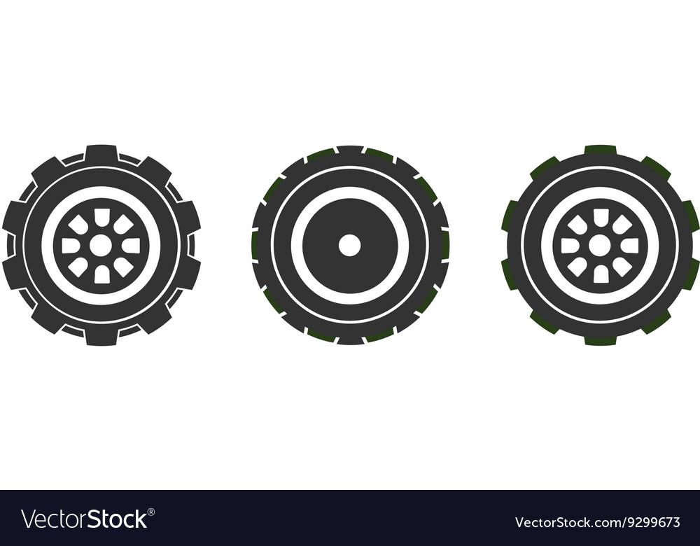 Wheels 380x400 vector image