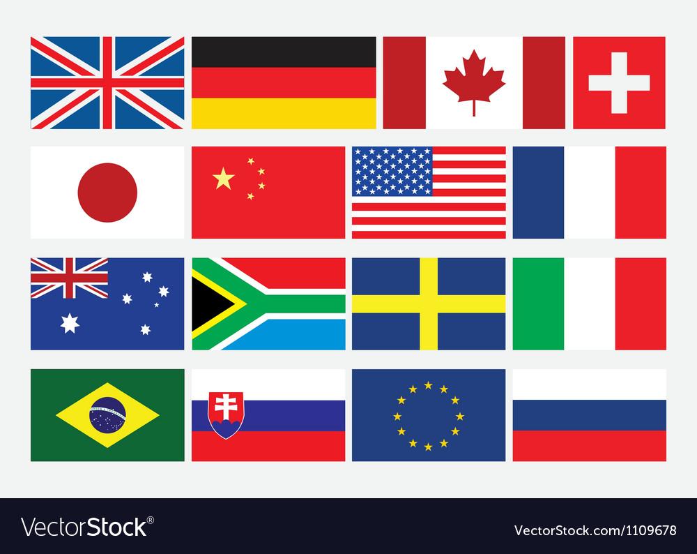 Картинки для срисовки флаги всего мира