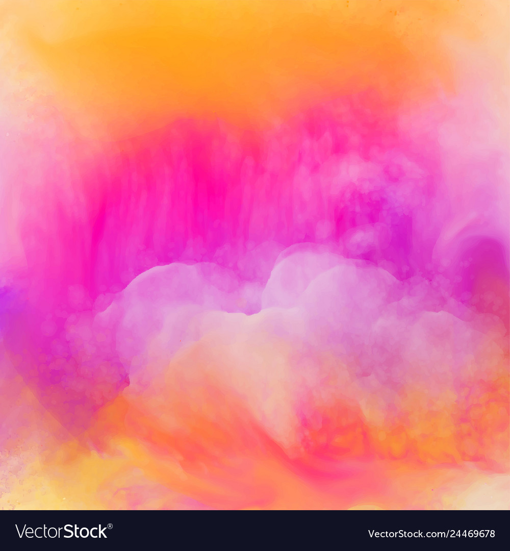 Vibrant bright watercolor texture background
