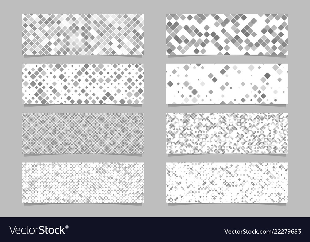 Abstract modern diagonal rounded square pattern