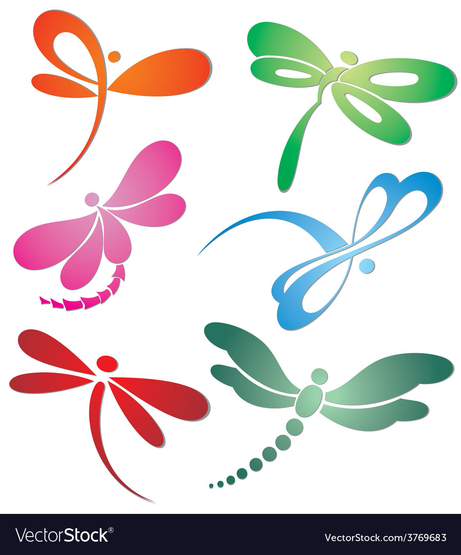 Butterflyn dragonfly logo design