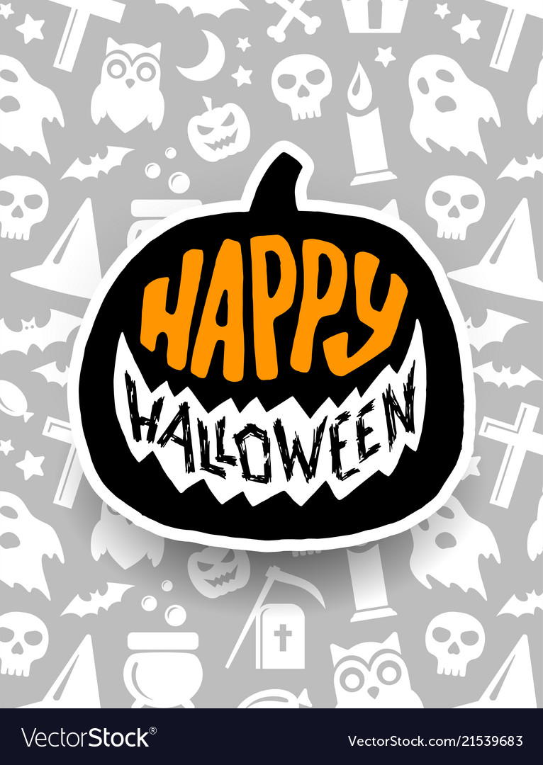 Fashion style Halloween Happy banner pictures for girls