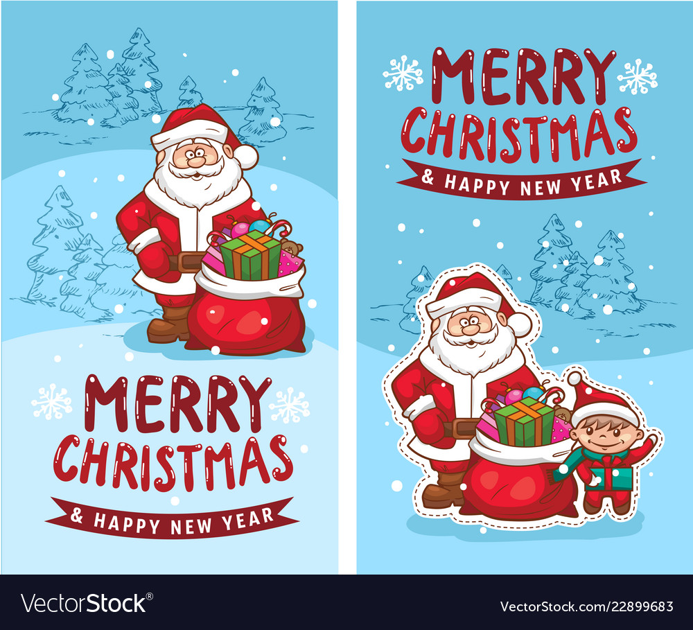 Merry christmas happy new year 2019 2 funny card