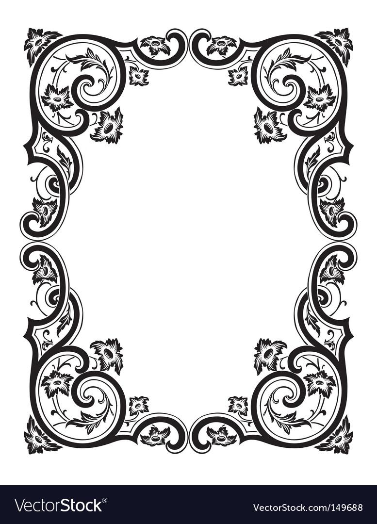Free antique frame engraving vectorAntique Picture Frames Vector