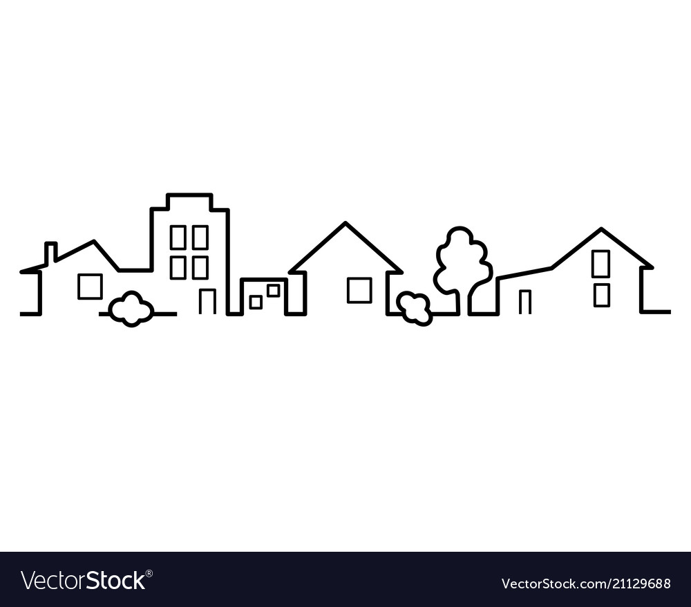 Houses one line