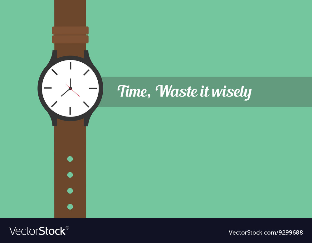 time quotes royalty vector image vectorstock