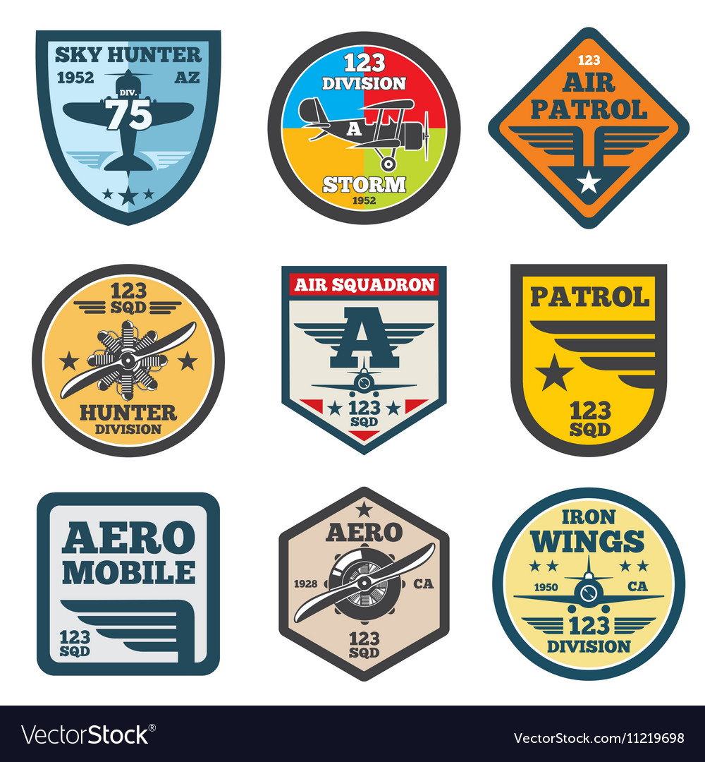 Army jet aviation air force labels patch