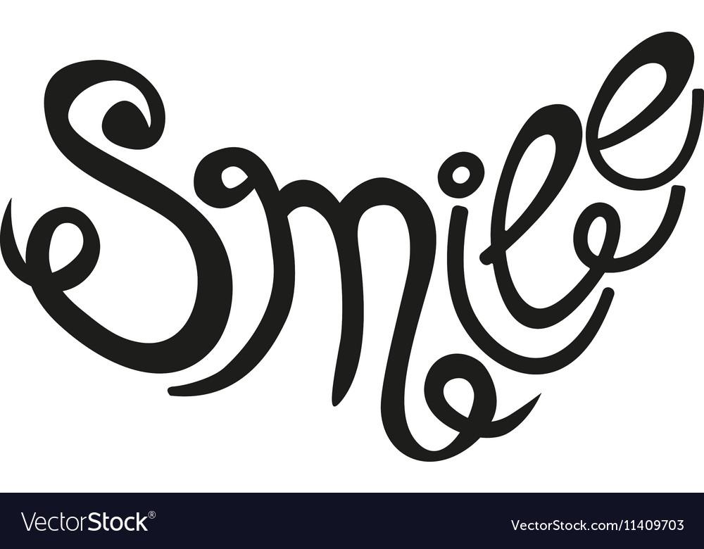 Inscription Smile