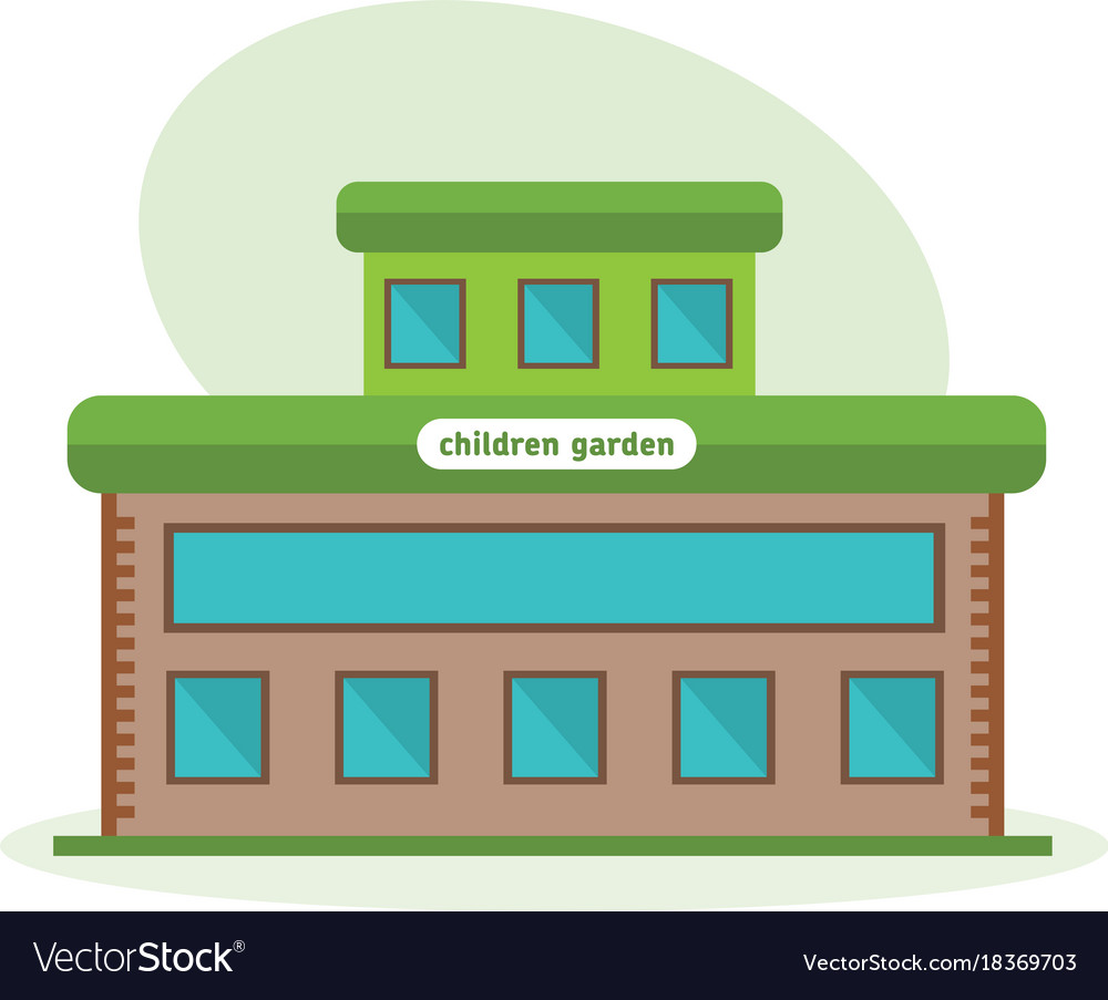 Multi-storey building of children garten