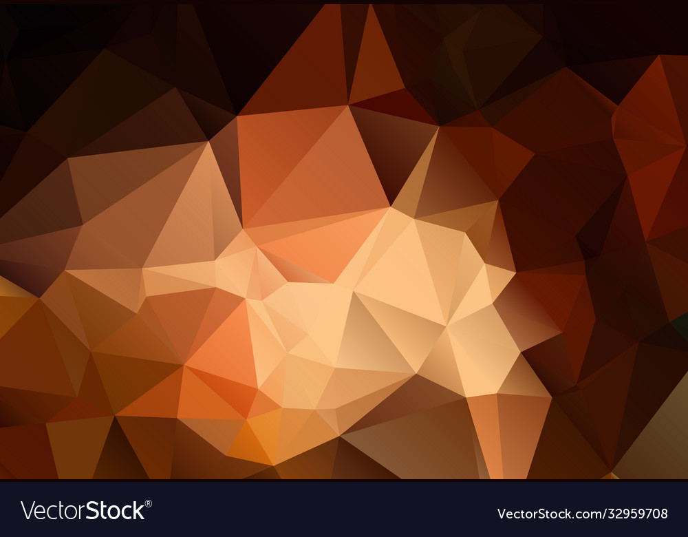 Abstract shades brown polygonal background