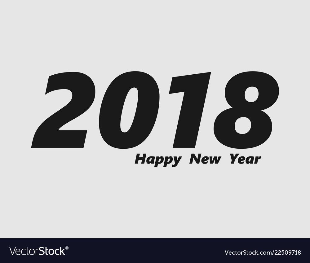 2018 - icon happy new year