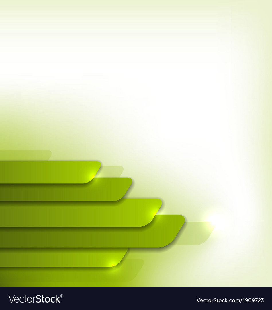 Modern green background abstract colorful design