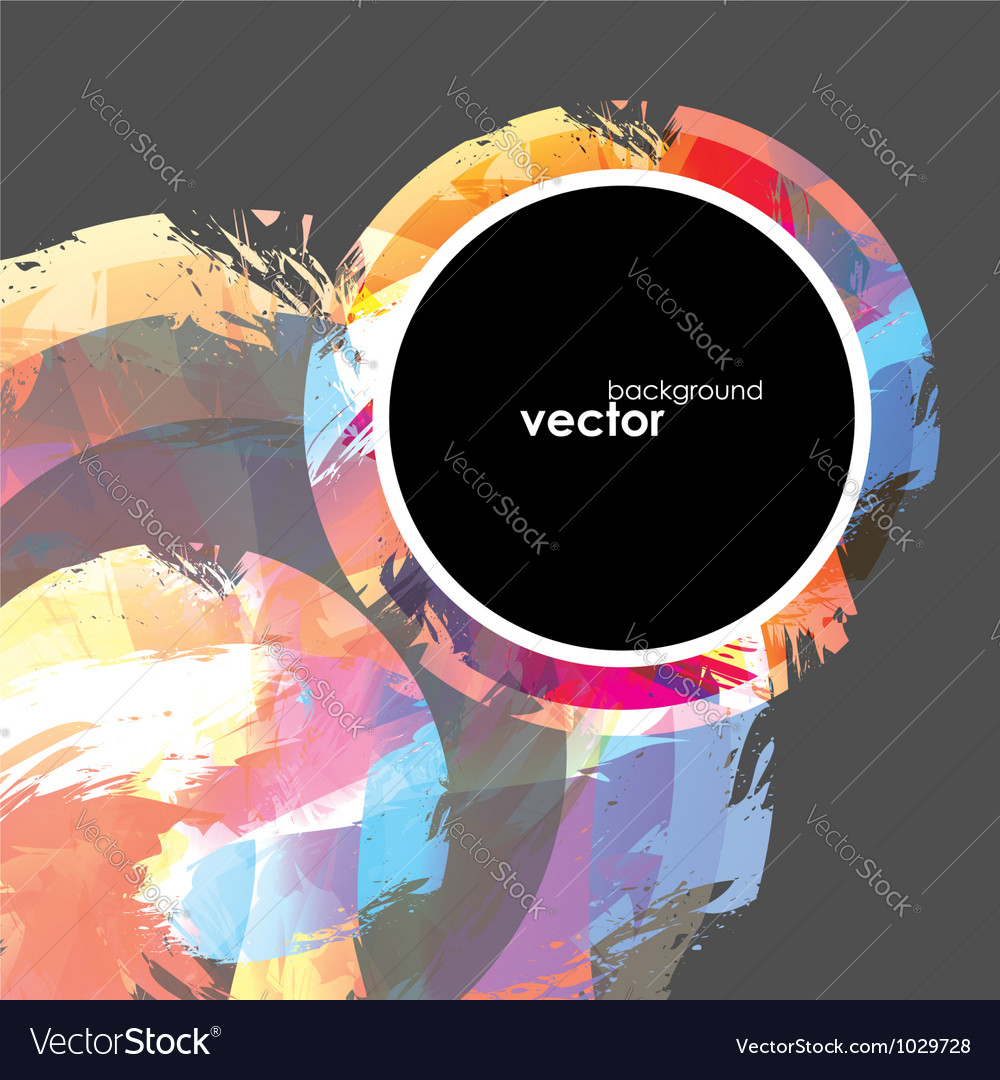 Abstract brush Background vector image