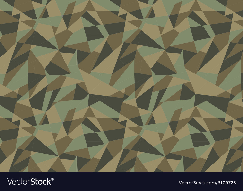Abstract geometric camouflage pattern background