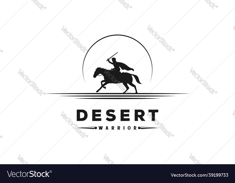 Sunset sunrise equestrian horseback knight