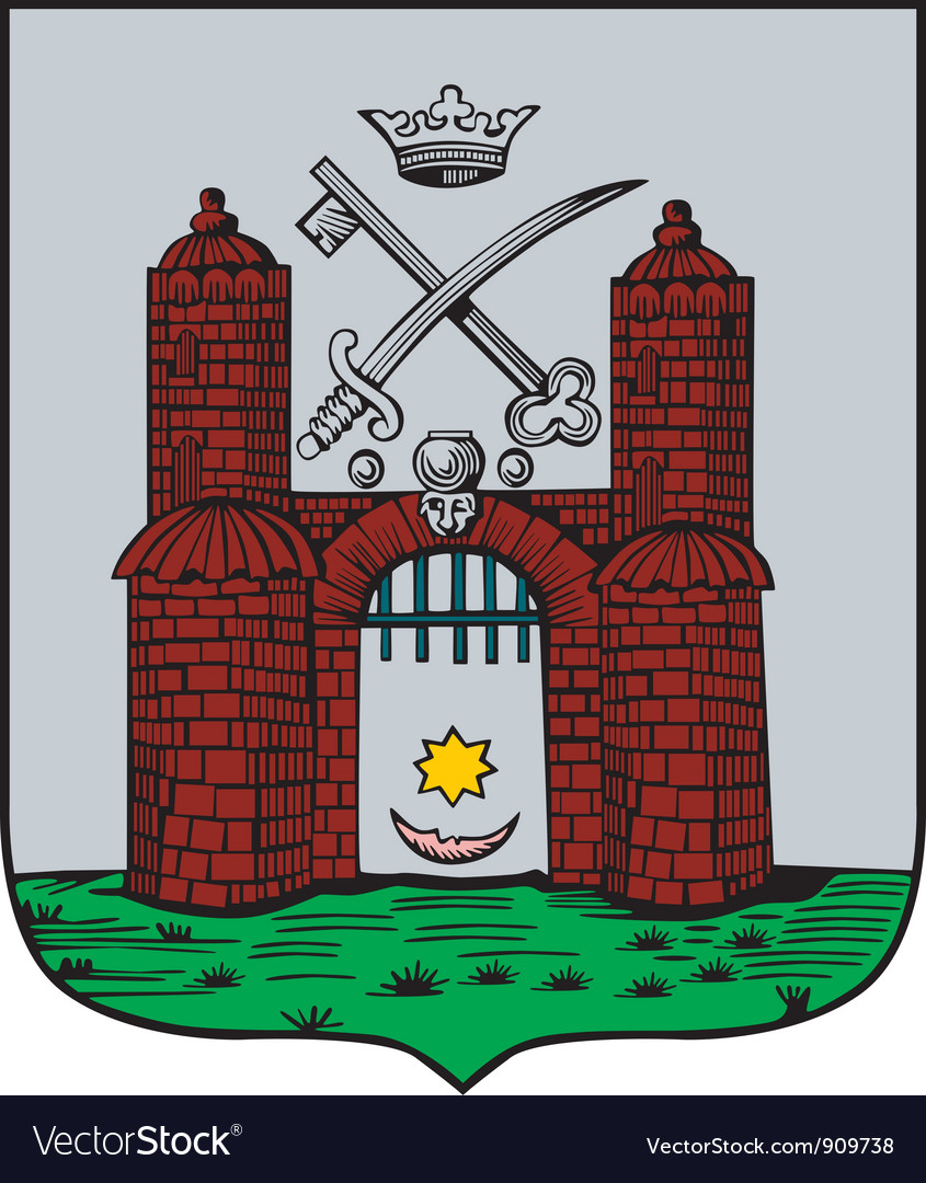 Tartu City vector image