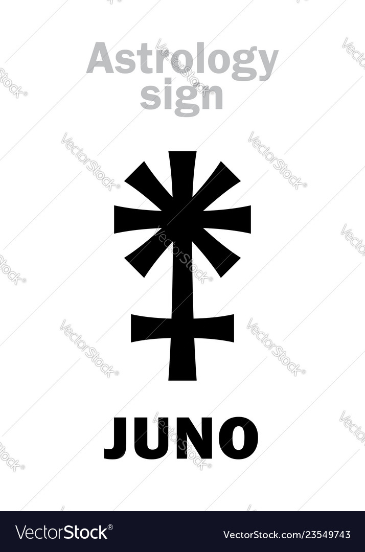 Astrology asteroid juno