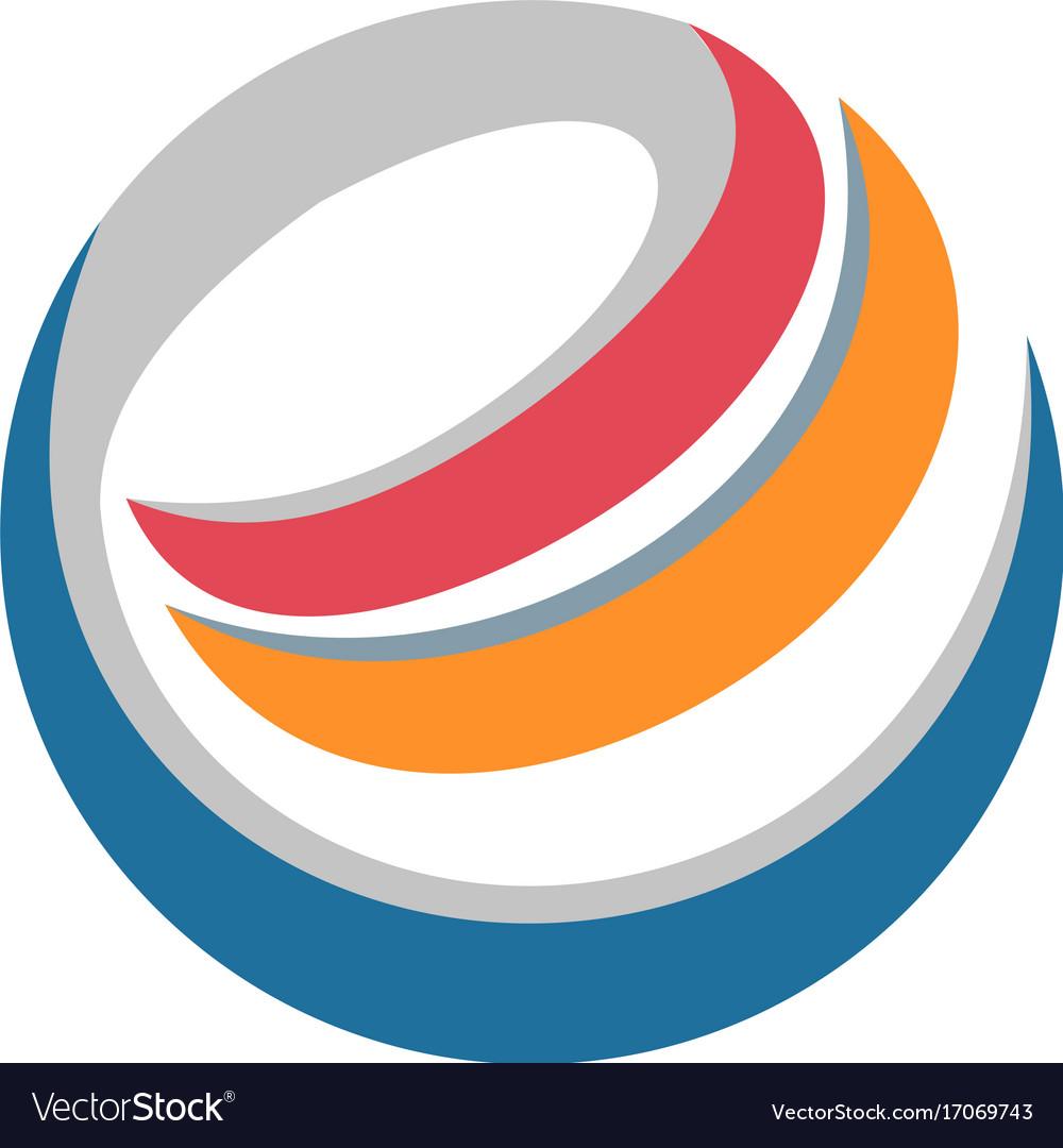 E internet technology circle logo