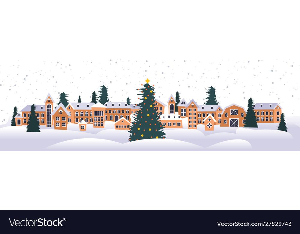 Merry christmas happy new year holiday celebration