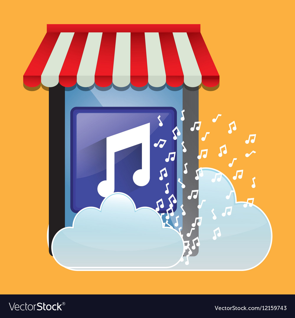 Mobile music store online cloud