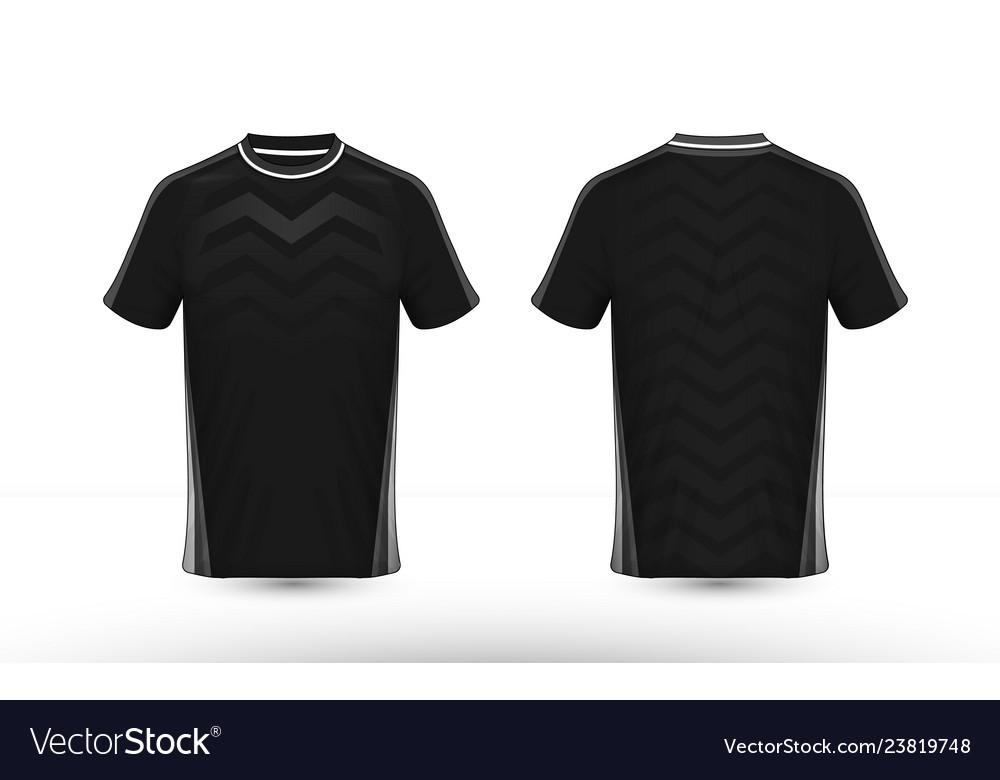 Black and white layout e-sport t-shirt design