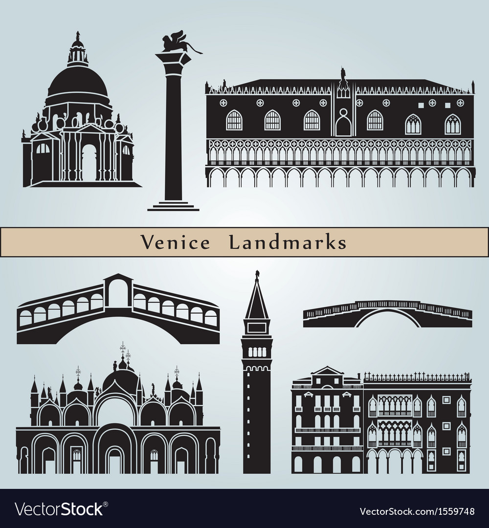 Venice landmarks and monuments